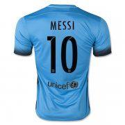 15-16 Cheap Football Shirt Barcelona MESSI 10 Third Replica Jersey [B541]