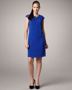 Silk Crepe Dress by MAG by Magaschoni at Neiman Marcus Last Call.