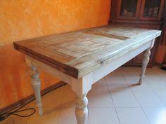 Il tavolo dopo il restyling