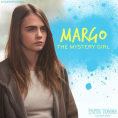 Image shared by Paper Towns. Find images and videos about gorgeous, cara delevingne and john green on We Heart It - the app to get lost in what you love. Cara Delevingne Paper Towns, Margo Roth, Hazel Grace, John Green Books, Looking For Alaska, Cute Actors, The Fault In Our Stars, Girl Humor, Book Worms