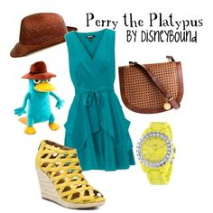 Perry the Platypus (Phineas and Ferb) Inspired Outfit
