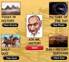 This website provides historical facts of the day in history, which can allow the teacher to post daily trivia. Extremely useful if any of the facts cover your current ss unit.