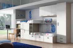 Pokój dziecięcy z dużą ilością miejsc do przechowywania i magazynowania https://www.homify.pl/katalogi-inspiracji/8818/jak-pieknie-urzadzic-pokoj-dzieciecy