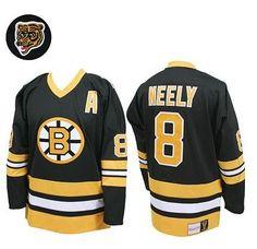 Boston Bruins Cam Neely 8 Black Authentic Jersey Sale