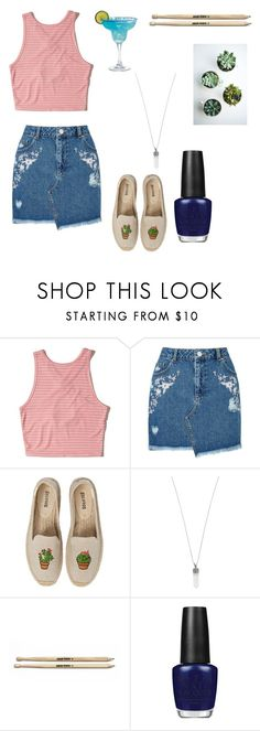 """""""Untitled #61"""" by fevzi-mete ❤ liked on Polyvore featuring Hollister Co., Miss Selfridge, Soludos, Marc Jacobs and OPI"""