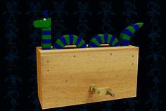 Sea Monster Wooden Toy - Parasolid,SOLIDWORKS - 3D CAD model - GrabCAD