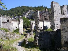 Wandering The Ruins Of Kayaköy - Recording A Village In Photos | Turkey's For Life...