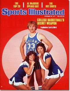 Larry Bird, Basketball, Indiana State Sycamores