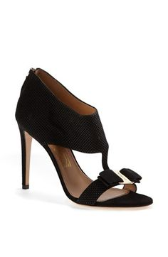 only $750.  mere pittance.  right?? Salvatore Ferragamo 'Pellas' Suede Sandal available at #Nordstrom