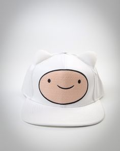 Adventure Time Finn Ears Snapback Hat