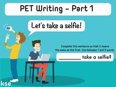 NEW QUIZ for PET (B1): _______ take a selfie? 🤔