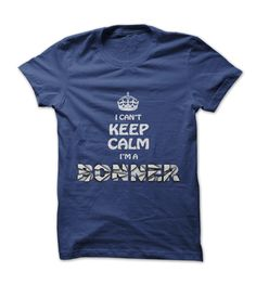 Im a BONNER - Royal Blue