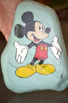Gave this one to Mickey Mouse..