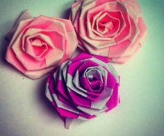 How to Make Fast & Easy Tiny Origami Rose (Strip Folding) - Snapguide