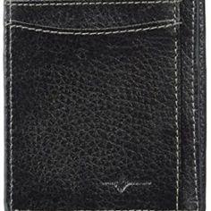 Buxton Men's Floater RFID Blocking Front Pocket Get-away Slim Minamalist Wallet Card Case, Business Cards, Wallets, Slim, Pocket, Lipsense Business Cards, Purses, Name Cards, Visit Cards