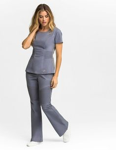 Modern Scrubs and Lab Coats for Men and Women by Jaanuu Spa Uniform, Scrubs Uniform, Uniform Ideas, Nursing Clothes, Nursing Dress, Medical Scrubs, Dental Scrubs, Nursing Scrubs, Scrubs Outfit
