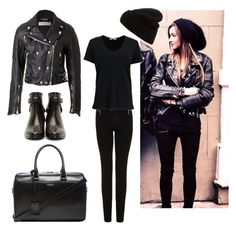 """""""Steal her style: Eleanor Calder"""" by maryanacoolstyles ❤ liked on Polyvore featuring Calder, Burberry, Acne Studios, Yves Saint Laurent and rag & bone"""