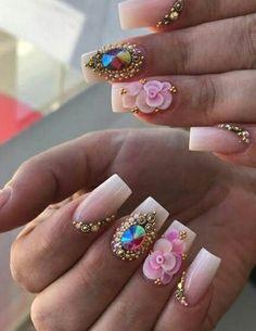 Acrylic Nails, Acrylics, Nail Games, How To Do Nails, Nail Colors, Nail Designs, Nail Art, Turquoise, Claws