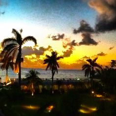 Another awesome sunset at Jamaica Inn. #amazingsunsets #roomwithaview #jamaicaviews #instagram