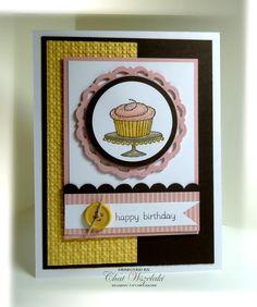 Birthday Cupcake by nitestamper on Etsy, $3.25