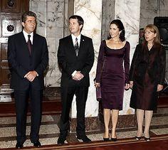 Crown Prince Frederik and Crown Princess Mary.