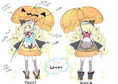 Louhi Character Design Sheet by LuluSeason on deviantART