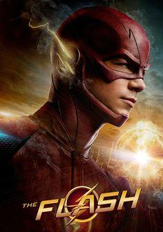 "The Flash Grant Gustin as ""Barry Allen"" O Flash, Flash Arrow, The Flash Poster, Superhero Tv Shows, Flash Wallpaper, Marvel Wallpaper, Flash Tv Series, Flash Barry Allen, Black Spiderman"
