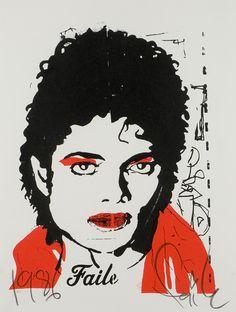 Faile, UK, Urban Art, MJ - Edition 1, 2006