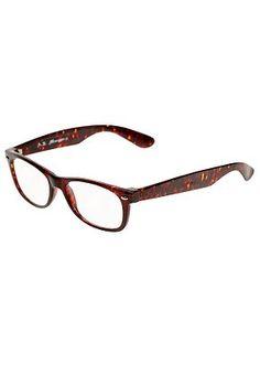 Fake glasses - I think I need these!
