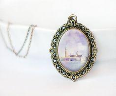 Venice photo pendant Italy photography wearable art by TiAmoFoto handmade jewelry, christmas gift idea