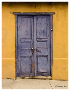 I love these old doors, you never know what you are going to find inside!