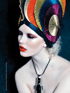 headdress.
