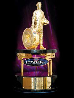 "NHRA Wally Parks Trophy, a ""Wally"""