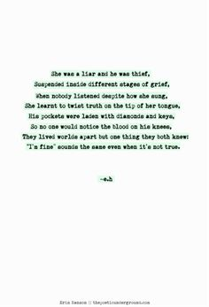 The Liar and The Thief. http://thepoeticunderground.com/ #poem #poetry