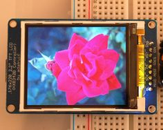 "Test the Display | 2.2"" TFT Display 