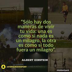 """""""Sólo hay dos maneras de vivir tu vida: una es como si nada es un milagro la otra es como si todo fuera un milagro"""". Albert Einstein  #tumejornocopias #goodnight"""