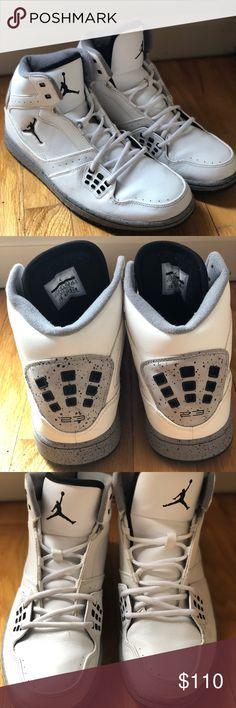 2e2f8c29cafc19 Nike Air Jordan 1 Flight white   Black Basketball Shoes Jordan Shoes  Sneakers Jordan 1 Flight