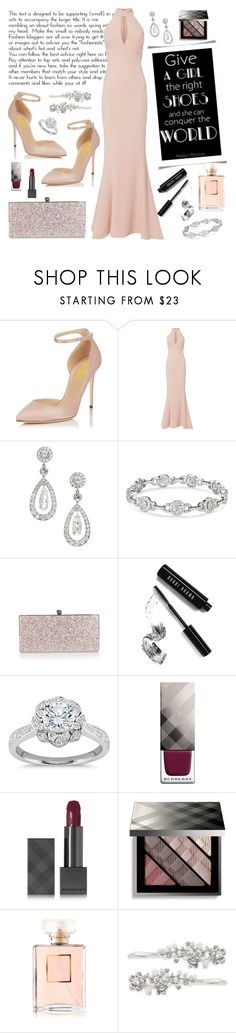"""Stilettos"" by sew-inspired ❤ liked on Polyvore featuring Exclusive for Intermix, Jimmy Choo, Bobbi Brown Cosmetics, Zac Posen, Burberry, Chanel and Robert Rose"