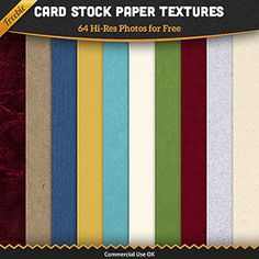 Free Cardstock Paper Textures: 64 High Quality Images