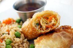 chicken egg roll recipes easy | Chicken Egg Rolls Recipe | Cake and Allie