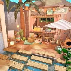 #roblox #robloxbuild #bloxburg #robloxgame Two Story House Design, Tiny House Layout, Unique House Design, House Layouts, Home Building Design, Building A House, House Plans With Pictures, House Color Palettes, House Template