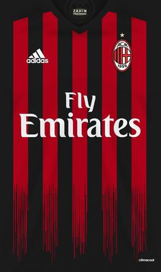 AC Milan 16-17 kit home #soccerkits