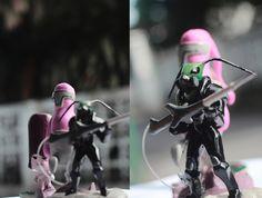 Custom Toys by Septha Perwana, via Behance