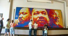 Martin Luther King  4.242 cubos Rubik