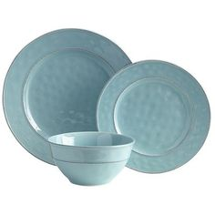 Our glazed stoneware pieces have been carefully crafted so they have the irregular surfaces, rubbed edges and rustic look you'd expect from farmhouse pottery. But somehow, they're still refined. Classic silhouettes and soft color make them an easy choice for special occasions; the fact that they're dishwasher-safe makes them a natural for everyday use.