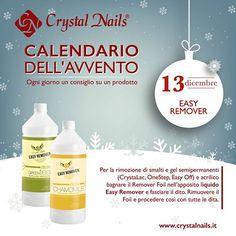 Calendario dell'avvento Crystal Nails - 13 dicembre #easyremover #crystalnails