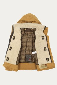 Snow Smock with Detachable Shearling Liner by Ten C