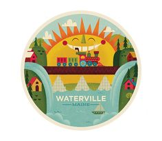 Waterville - The Everywhere Project by Mike Dornseif