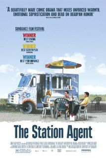 The Station Agent -- a quiet little movie that is subtly charming. Peter Drinkledge is fascinating.