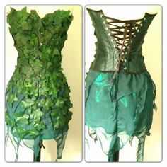 Poison ivy costume.
